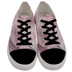 Shabby Chic High Tea Men s Low Top Canvas Sneakers