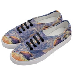 Impressionism Women s Classic Low Top Sneakers by 8fugoso