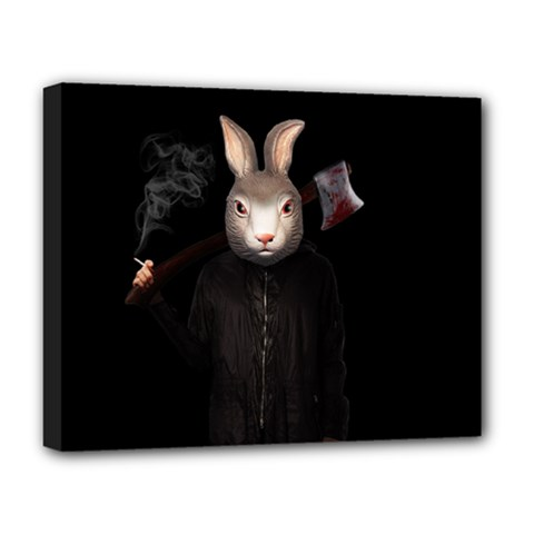 Evil Rabbit Deluxe Canvas 20  X 16