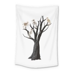 Dead Tree  Small Tapestry by Valentinaart