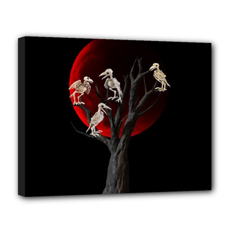 Dead Tree  Canvas 14  X 11