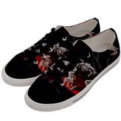 Dead Tree  Men s Low Top Canvas Sneakers by Valentinaart