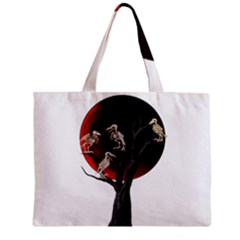 Dead Tree  Zipper Mini Tote Bag