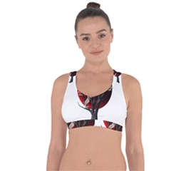 Dead Tree  Cross String Back Sports Bra