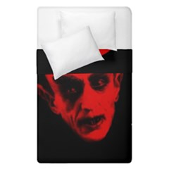 Dracula Duvet Cover Double Side (single Size) by Valentinaart
