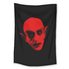 Dracula Large Tapestry by Valentinaart