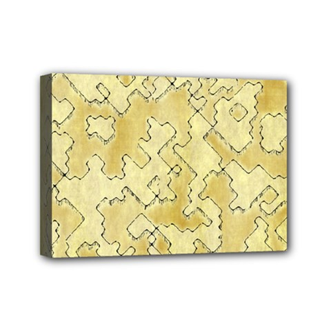Fantasy Dungeon Maps 1 Mini Canvas 7  X 5  by MoreColorsinLife