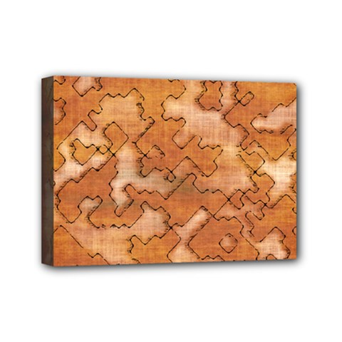 Fantasy Dungeon Maps 2 Mini Canvas 7  X 5  by MoreColorsinLife