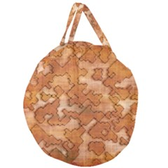 Fantasy Dungeon Maps 2 Giant Round Zipper Tote