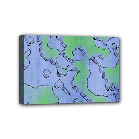 Fantasy Dungeon Maps 5 Mini Canvas 6  X 4  by MoreColorsinLife