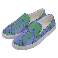 Fantasy Dungeon Maps 5 Men s Canvas Slip Ons by MoreColorsinLife