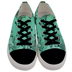Fantasy Dungeon Maps 7 Men s Low Top Canvas Sneakers