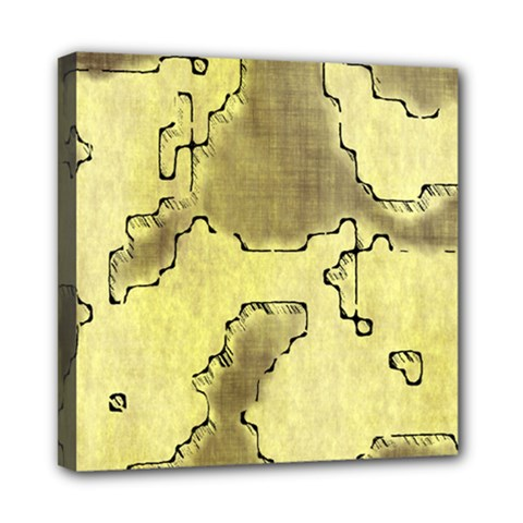 Fantasy Dungeon Maps 8 Mini Canvas 8  X 8  by MoreColorsinLife