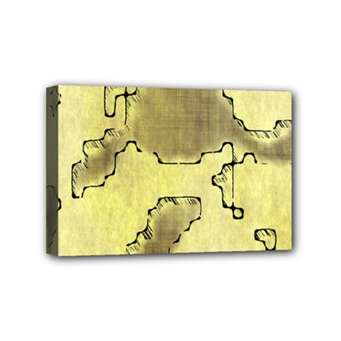 Fantasy Dungeon Maps 8 Mini Canvas 6  X 4  by MoreColorsinLife