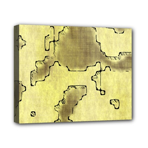 Fantasy Dungeon Maps 8 Canvas 10  X 8  by MoreColorsinLife