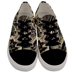 Ink Art Men s Low Top Canvas Sneakers