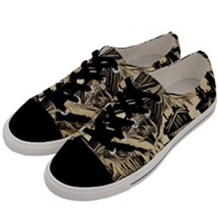 Ink Art Men s Low Top Canvas Sneakers by 8fugoso