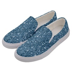 New Sparkling Glitter Print F Men s Canvas Slip Ons by MoreColorsinLife
