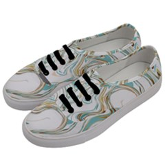 Abstract Marble 1 Men s Classic Low Top Sneakers by tarastyle