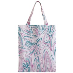 Abstract Marble 4 Zipper Classic Tote Bag by tarastyle