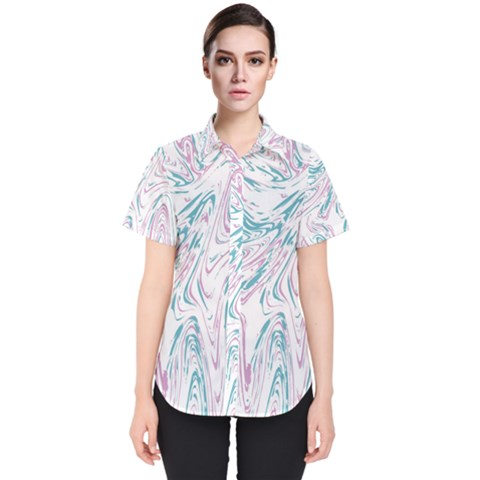 Abstract Marble 4 Women s Short Sleeve Shirt by tarastyle