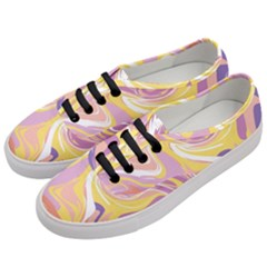 Abstract Marble 5 Women s Classic Low Top Sneakers by tarastyle