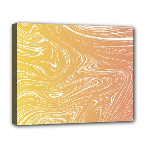 Abstract Marble 6 Deluxe Canvas 20  X 16   by tarastyle