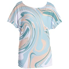 Abstract Marble 11 Women s Oversized Tee by tarastyle