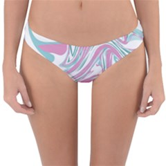 Abstract Marble 12 Reversible Hipster Bikini Bottoms by tarastyle