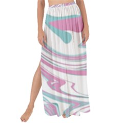 Abstract Marble 12 Maxi Chiffon Tie Up Sarong