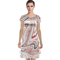 Abstract Marble 13 Cap Sleeve Nightdress
