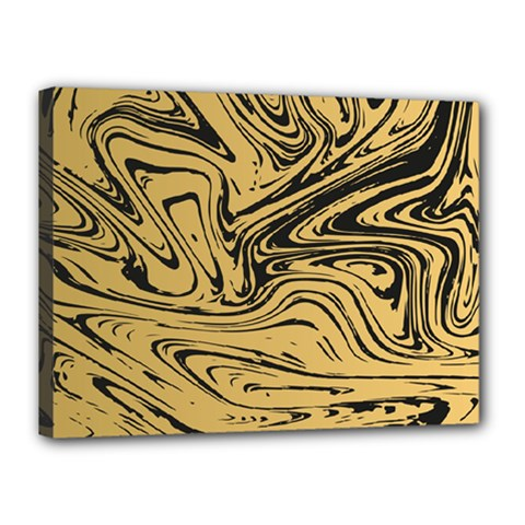 Abstract Marble 16 Canvas 16  X 12  by tarastyle