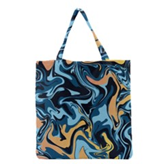 Abstract Marble 18 Grocery Tote Bag by tarastyle