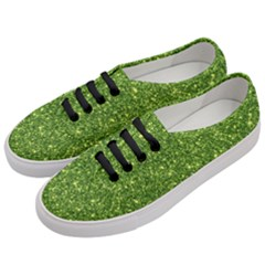 New Sparkling Glitter Print G Women s Classic Low Top Sneakers by MoreColorsinLife