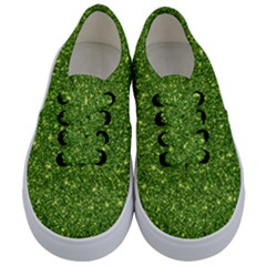 New Sparkling Glitter Print G Kids  Classic Low Top Sneakers