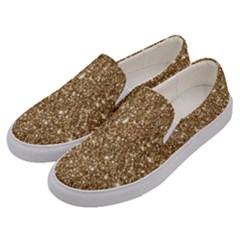 New Sparkling Glitter Print H Men s Canvas Slip Ons by MoreColorsinLife