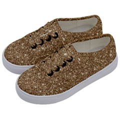 New Sparkling Glitter Print H Kids  Classic Low Top Sneakers by MoreColorsinLife