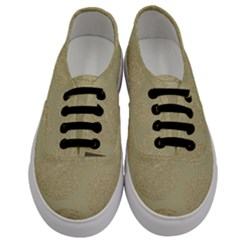 Modern, Gold,polka Dots, Metallic,elegant,chic,hand Painted, Beautiful,contemporary,deocrative,decor Men s Classic Low Top Sneakers