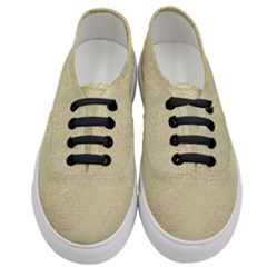 Modern, Gold,polka Dots, Metallic,elegant,chic,hand Painted, Beautiful,contemporary,deocrative,decor Women s Classic Low Top Sneakers