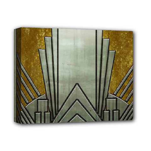 Art Nouveau Gold Silver Deluxe Canvas 14  X 11  by 8fugoso