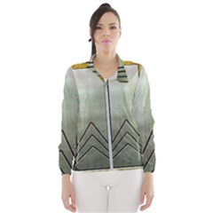 Art Nouveau Gold Silver Wind Breaker (women) by 8fugoso