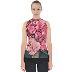 Beautiful Peonies Shell Top by 8fugoso