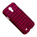 WOVEN1 BLACK MARBLE & PINK LEATHER Samsung Galaxy S4 I9500/I9505 Hardshell Case View5