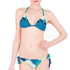 Abstract Nature 4 Bikini Set