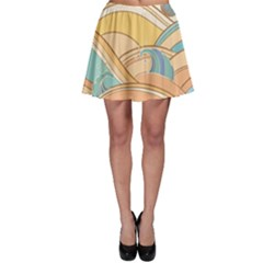 Abstract Nature 5 Skater Skirt by tarastyle