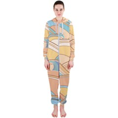 Abstract Nature 5 Hooded Jumpsuit (ladies)