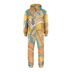 Abstract Nature 5 Hooded Jumpsuit (kids)