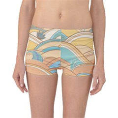 Abstract Nature 5 Boyleg Bikini Bottoms