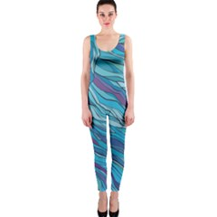 Abstract Nature 6 Onepiece Catsuit