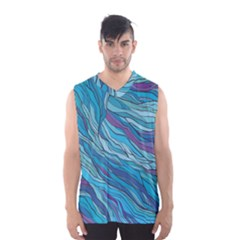 Abstract Nature 6 Men s Basketball Tank Top